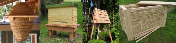Gaia Bees Alternative Hives
