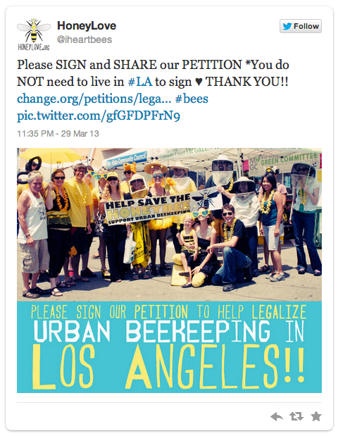 Legalize Urban Beekeeping