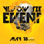 Yellow Tie Event Flyer